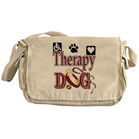 Therapy Dog Messenger Bag