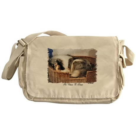 Collie Gifts of Art Messenger Bag