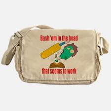 Bash 'em in the head Messenger Bag