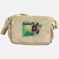 Boxer Dog Lover Messenger Bag