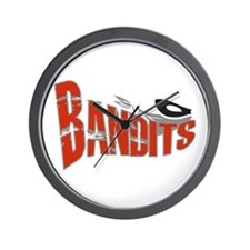 Sioux City Bandits Wall Clock