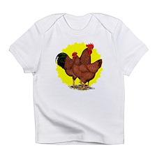Production Red Sunburst Infant T-Shirt
