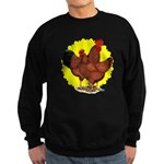Production Red Sunburst Sweatshirt (dark)