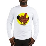 Production Red Sunburst Long Sleeve T-Shirt