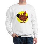 Production Red Sunburst Sweatshirt