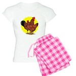 Production Red Sunburst Women's Light Pajamas
