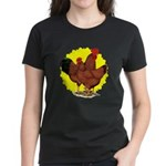 Production Red Sunburst Women's Dark T-Shirt