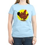 Production Red Sunburst Women's Light T-Shirt