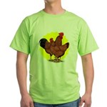 Production Red Sunburst Green T-Shirt
