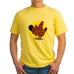 Production Red Sunburst Yellow T-Shirt