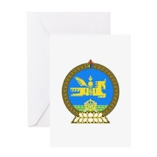 Mongolia Greeting Card