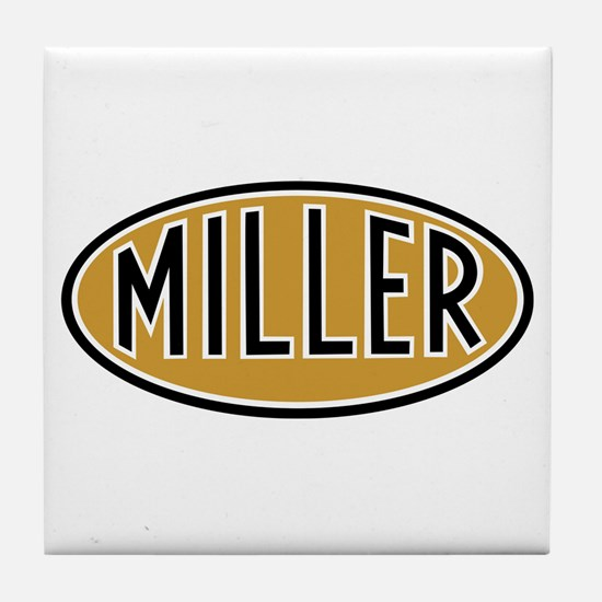 Miller Logo Tile Coaster