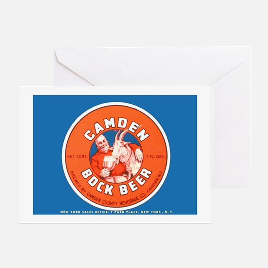 New Jersey Beer Label 2 Greeting Card