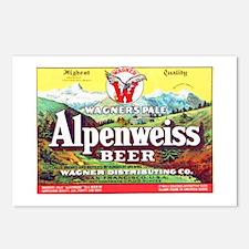California Beer Label 1 Postcards (Package of 8)