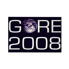 Earth Gore 2008 Refrigerator Magnet