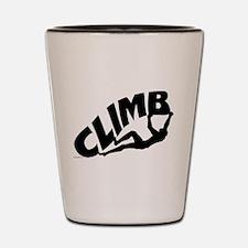 Rock Bouldering Shot Glass