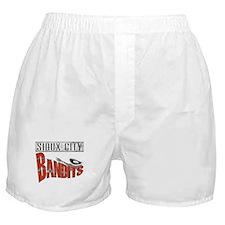 Sioux City Bandits Boxer Shorts