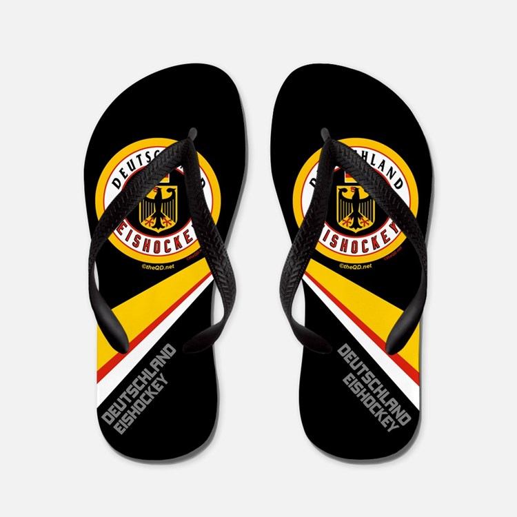 Germany Hockey(Deutschland) Flip Flops