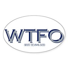 WTFO (over) Decal