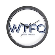 WTFO (over) Wall Clock