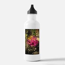 Pink Vintage Bouquet Sports Water Bottle