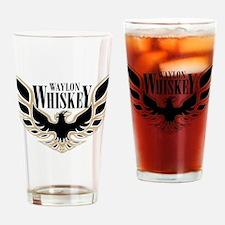 Waylon Whiskey Beer Glass