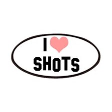 I heart Shots Patches