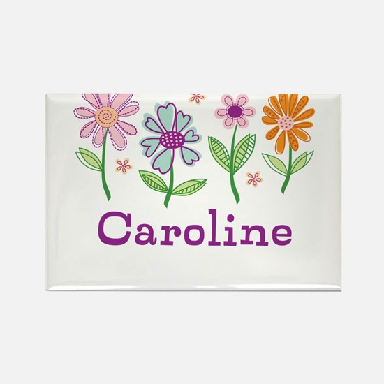 Daisy Garden Rectangle Magnet