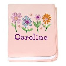 Daisy Garden baby blanket