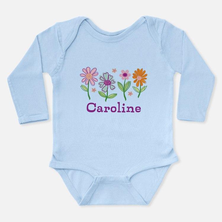 Daisy Garden Long Sleeve Infant Bodysuit