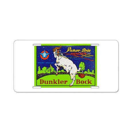 Germany Beer Label 6 Aluminum License Plate
