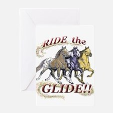 RIDE THE GLIDE! Greeting Card