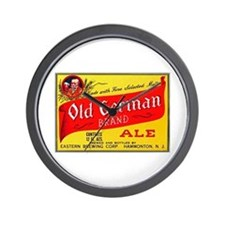 New Jersey Beer Label 4 Wall Clock