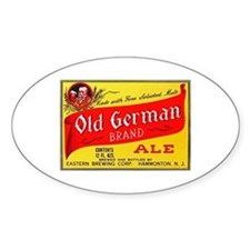 New Jersey Beer Label 4 Decal