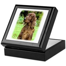 Irish Setter 9T004D-286 Keepsake Box