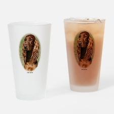 Irish Setter 9Y322D-116 Drinking Glass