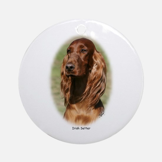 Irish Setter 9Y322D-116 Ornament (Round)