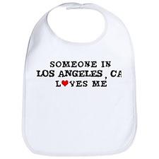 Someone in Los Angeles Bib