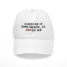 Someone in Long Beach Baseball Cap