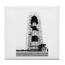 Bodie Island Lighthouse Tile Coaster