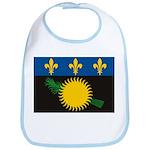 Guadeloupe Flag Bib