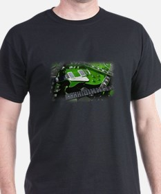 Green Guitar Collection T-Shirt