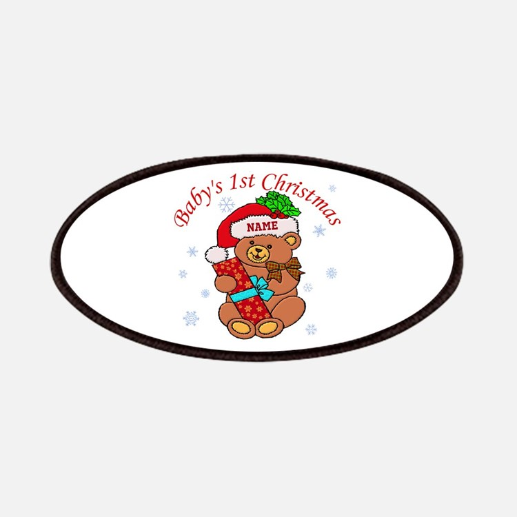 Baby's 1st Christmas Patches