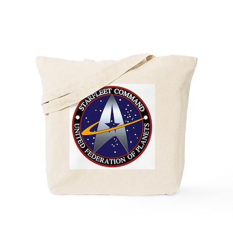 Starfleet Command Tote Bag
