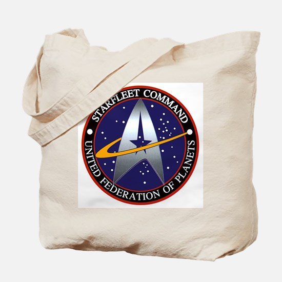 Starfleet Command Tote Bag