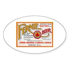 Canada Beer Label 7 Decal