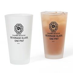 Dharma Initiative Pint Glass