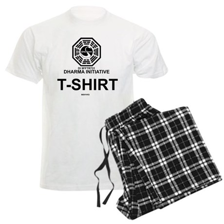Dharma Initiative Men's Light Pajamas