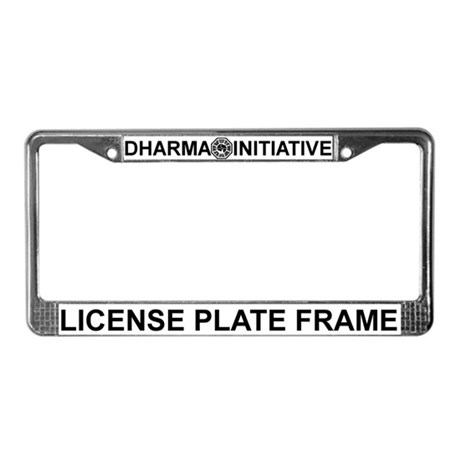 Dharma Initiative License Plate Frame