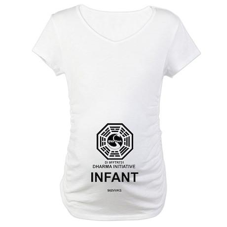Dharma Initiative Maternity T-Shirt